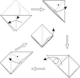 [求助]纸元宝的折法